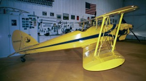 This aerobatic sport biplane is a 1994 plans-built Skoyte.