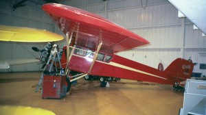 Carl Williams also owns a 1929 Curtiss Robin.