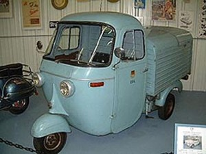 1963 Vespa Ape from the  Bruce Weiner Collection.