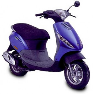 The Piaggio Zip 50 Cat is the UK's best selling scooter.