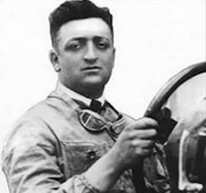 Enzo Ferrari entered his first race in 1919.