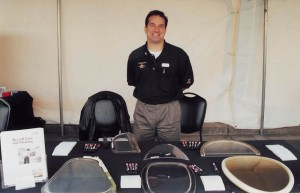 Tony Manos, national sales manager of Aircraft Window Repairs of Torrance, Calif.