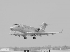 The fourth Bombardier Continental Business Jet (serial number 20004) successfully completed its first flight in April 2002.