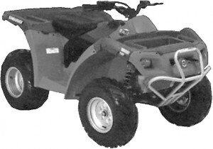 In February 2002, Bombardier Recreational Products launched the entry-level Rally 200 all-terrain vehicle, a full-size, value-priced ATV.