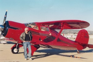 "Recently restored and now owned by Stephen Craig, the Staggerwing was first brought to the attention of the Journal when freelance photographer/journalist Frederick ""Gus"" Platts watched the plane touch down at Camarillo Airport in awe."