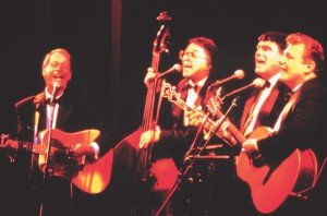 Folk legends The Brothers Four will perform at the  Red, White & Blue Gala.