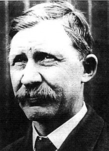 Charles Taylor, the designer and builder of the engine that powered Wilbur and Orville Wright's craft on Dec. 17, 1903.