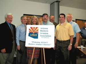 Members of the Arizona Business Aviation Association.