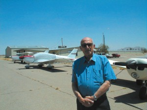 Andy Riggs, flight instructor for Double Eagle Aviation at its Casa Grande branch, has started a new career training pilots at a time when most people are settling into a quiet retirement.