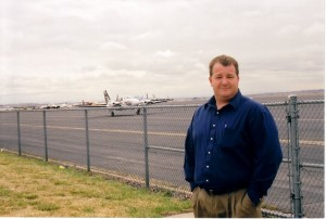 Troy Stover became acting airport manager at Jefferson County Airport in January 2001.