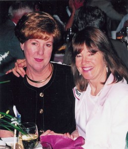 L to R: Emily Howell Warner and Jean Harper.