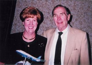 "Emily Howell Warner and husband Julius ""Jay"" Warner."