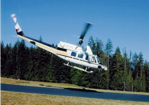 Dr. Bird's 1977 Bell IFR 212 (N38IRD) has been an important testbed in his pioneering aeromedical research.
