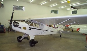 This 1938 Piper J3C-65 (N26044) once belonged to Dr. Bird's father. Bird Space Technology has rebuilt the aircraft twice.