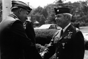 General Horner presented the Silver Star to Bob Pardo (and Steve Wayne) in 1989.