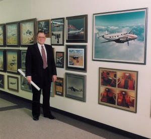 Dee Howard's museum, at his office just west of San Antonio International Airport, displays past accomplishments, as well as some of his vast art collection.