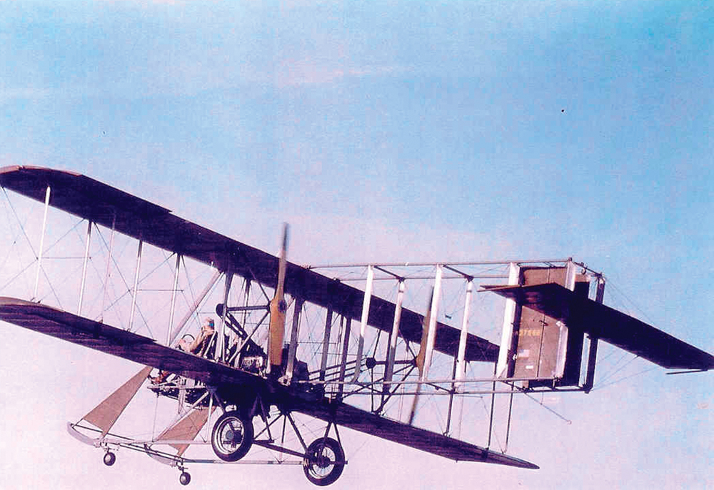 "Replica of the Wright ""B"" Flyer to Fly Around Statue of Liberty"