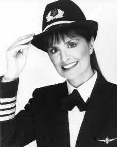 Bonnie Tiburzi retired from American Airlines as a captain on the B-767.