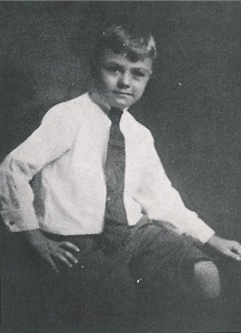 Paul Tibbets Jr. at age 8.
