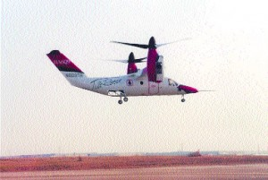 Four prototypes will be flown for a total of 3,000 hours before the Bell/Agusta 609's anticipated certification early in 2007.