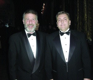 L to R: George Zimmer and David MacDonald, cofounders of Regal Aviation.
