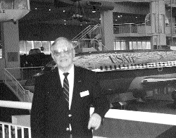 Bob Drew at The Museum of Flight.