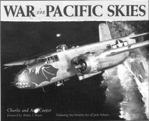 """War in the Pacific Skies, Featuring the Aviation Art of Jack Fellows,"" will be released in May."