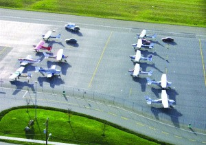 KCIA's GA pilots will be the backbone of a new Airport Watch program.