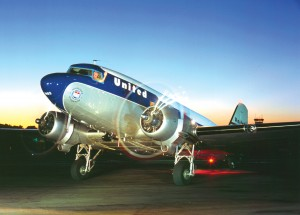 Clay Lacy's DC-3