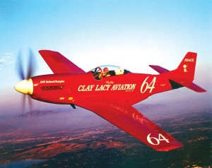 After coming in third place each year since the inaugural Reno Air Races in 1964, Lacy became the unlimited class champion in 1970, piloting his P-51D.