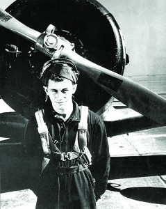 Chuck Yeager's first job in the military was as an airplane mechanic.