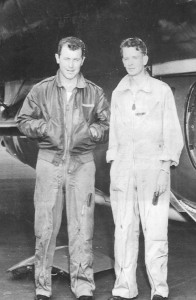 Chuck Yeager with Jack Ridley.