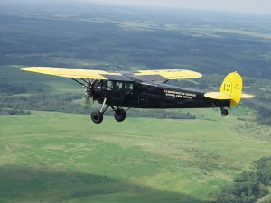 Greg Herrick's 1928 Fairchild FC-2W2 on the National Air Tour 2003.