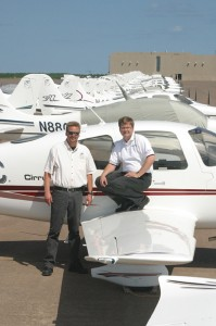 Alan and Dale Klapmeier co-founded Cirrus Design Corporation.