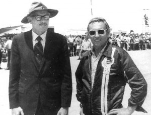 Bob Hoover and German fighter pilot ace Eric Hartman, In World War II, Hartman shot down 352 Allied planes.
