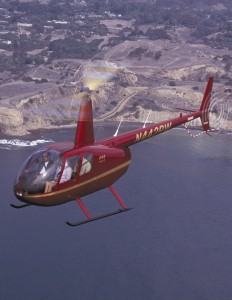 The R44 Raven II, base priced at $350,000, seats three passengers and one pilot. Since January, China alone has purchased 20 R44s.