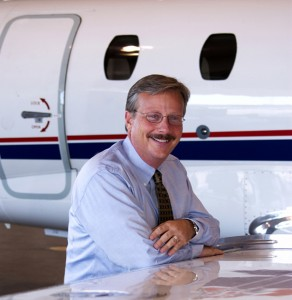 Jack Pelton, president and CEO of the Cessna Aircraft Company, is a firm believer in full-motion simulator training for the Mustang Citation, and as well for all of its jets.
