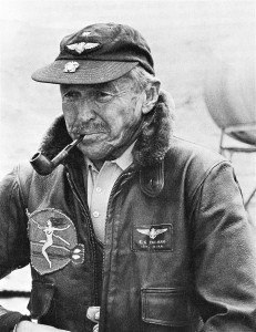 In 1961, Frank Tallman (shown) and Paul Mantz formed Tallmantz Aviation, a new stunt flying operation, to supply their Movieland of the Air Museum with a combined fleet of working aircraft.