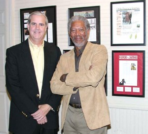Bill Luckett and Morgan Freeman are partners in Ground Zero Blues Club and Madidi, an upscale restaurant.
