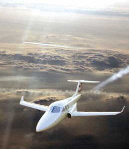 Diamond's D-Jet, an all-composite, five-place single-engine VLJ, will meet its 2007 customer delivery forecast.