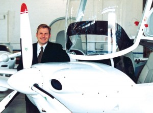 Peter Maurer, the North American president of Diamond Aircraft Industries, Inc., says they expect to hire more employees in the near future.