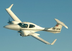 This DA42 Twin Star, certified in May 2004, in time for the Berlin Air Show, proves that the company's composite xexpertise dating back to 1981 has paid off.