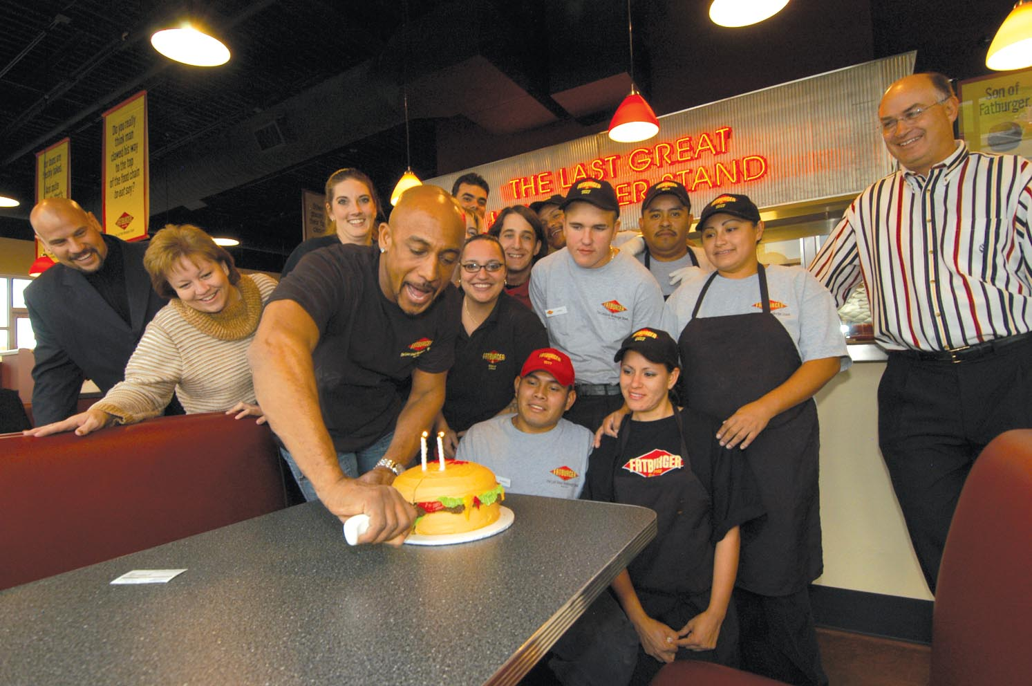Montel Williams Serves up Colorado's Second Helping of Fatburger