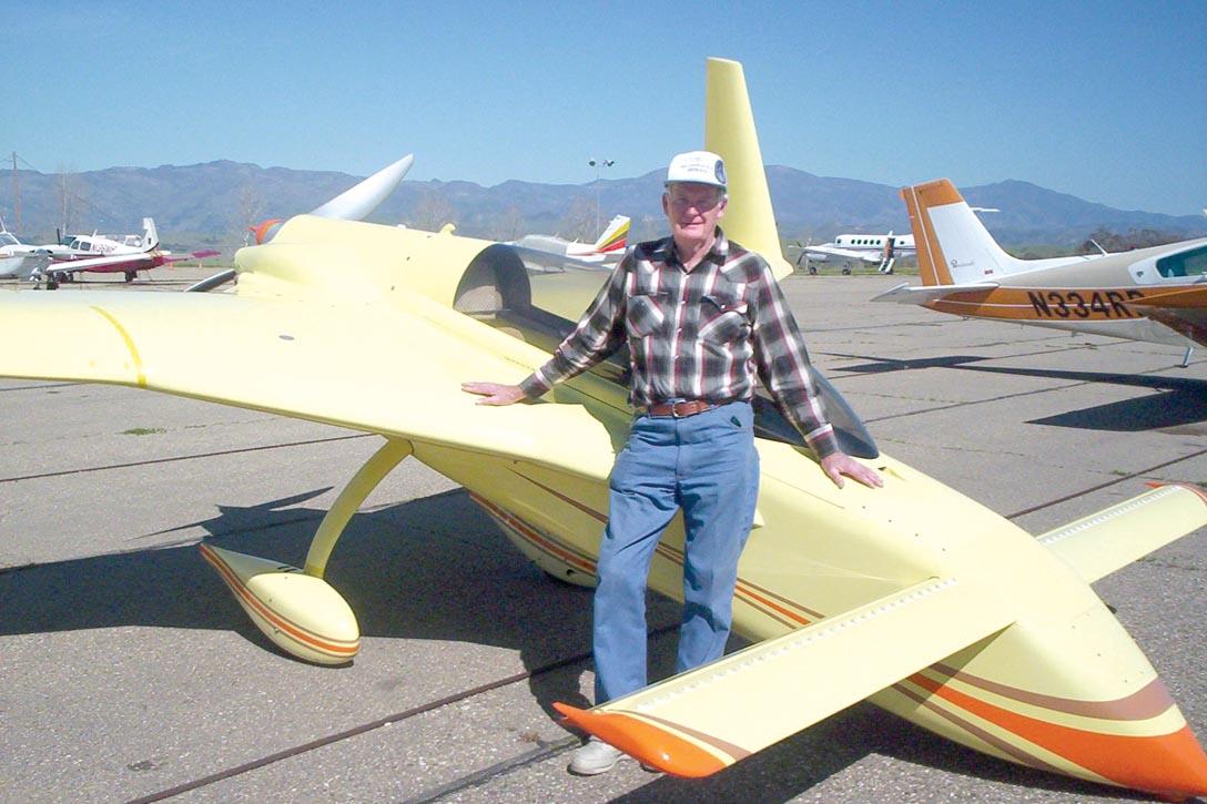 Long-EZ Flight to Santa Ynez