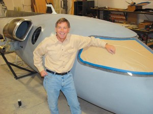 Bob Bornhofen believes his single-engine jet will find homes in hangars previously occupied by Bonanzas.