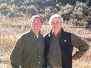 L to R: Scott Schmidt and Jeff Cobb formed MAJACK Development in 2000 to build high-quality, single-family residences in resort communities.