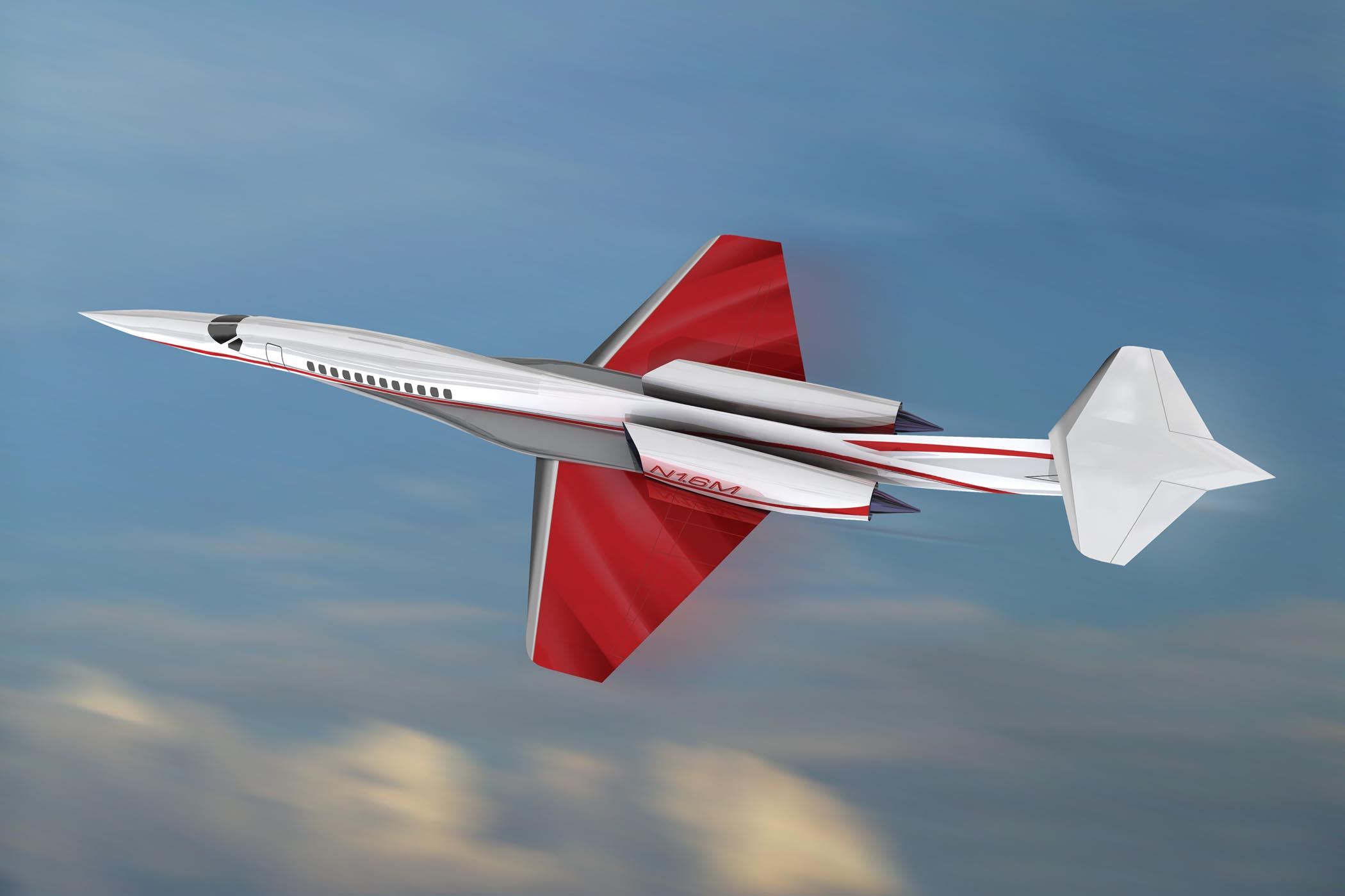 Aerion SSBJ Now a Trijet with Bigger Cabin, More Range | Business ...