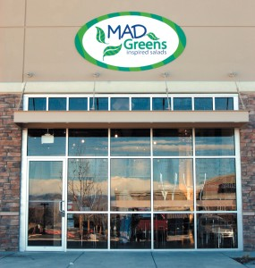 Mad Greens is a new eatery located in Centennial at Yosemite Park.