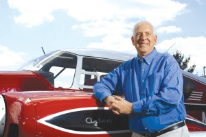Sporty's Founder and Chairman Hal Shevers has logged more than 2,000 hours in Aztecs.