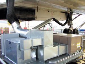 Concorde's HVAC cart.
